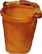 Hand Made leather Bucket